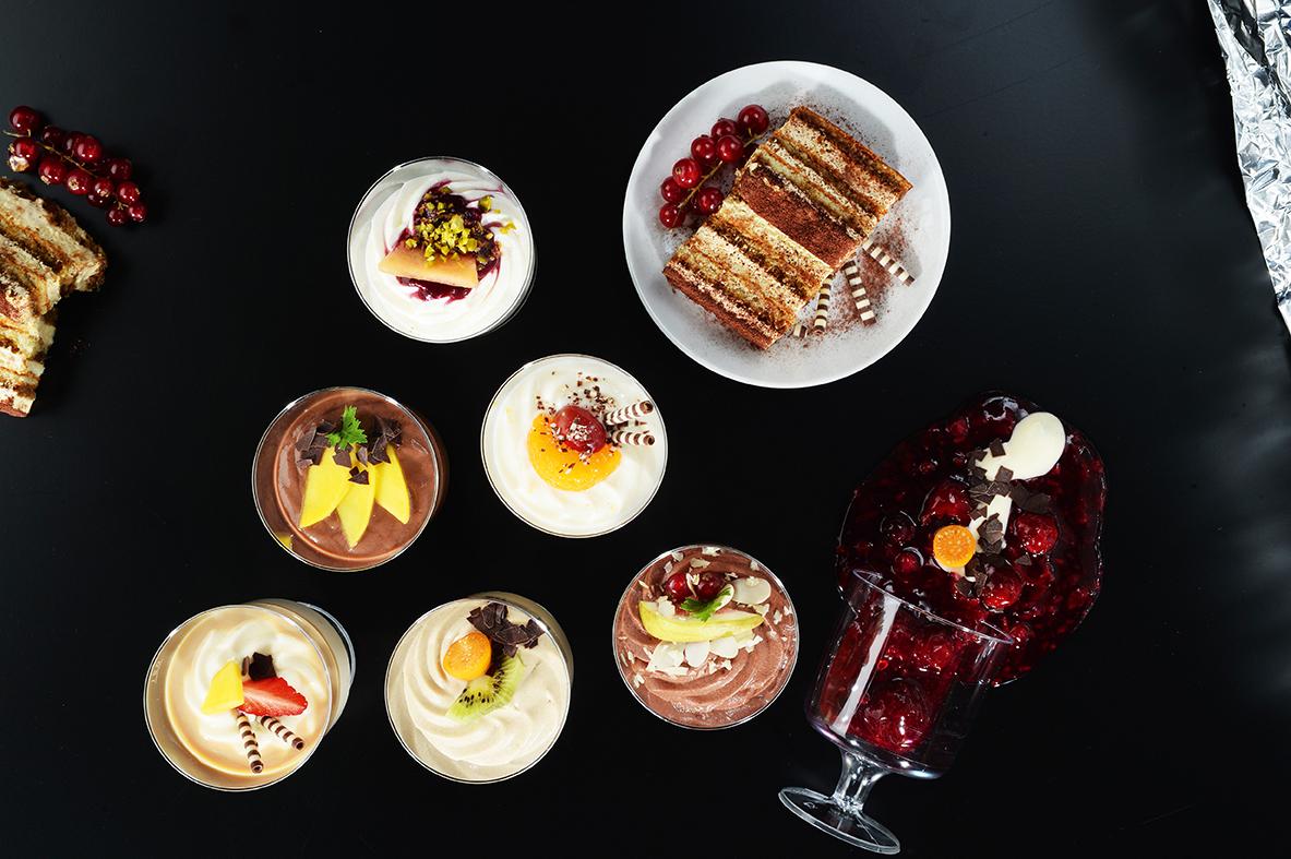 Desserts Variationen